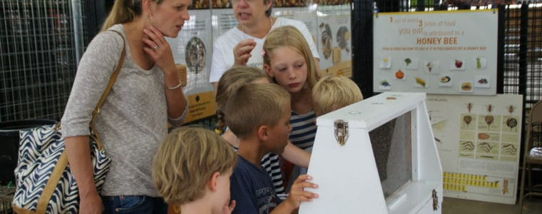 SIGN-UP as a Bee DOCENT at the MoCo Fair