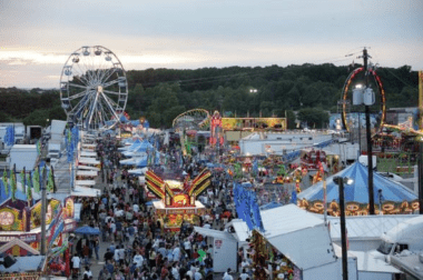 Volunteer at the Fair